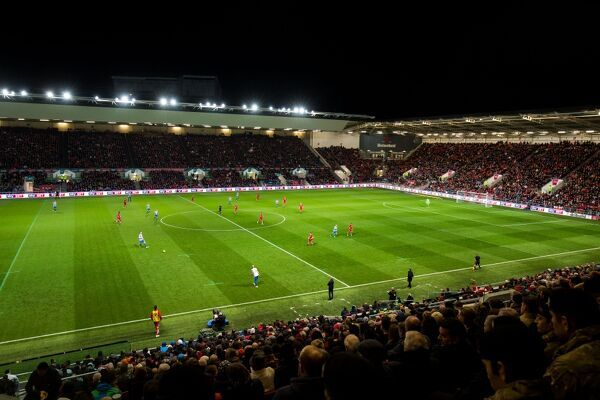 General View during the game - Rogan Thomson/JMP - 05/11/2016 - FOOTBALL - Ashton Gate Stadium - Bristol, England - Bristol City v Brighton & Hove Albion - Sky Bet Championship