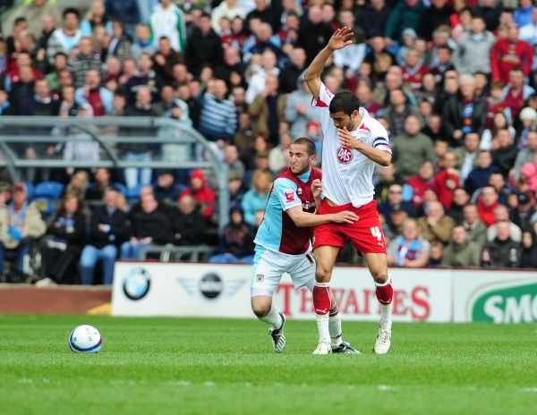Bristol City First Team: Season 08-09: Burnley V Bristol City