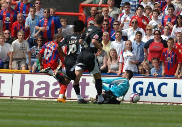 Bristol City First Team: Season 07-08: Crystal Palace v Bristol City Play Off 1st Leg