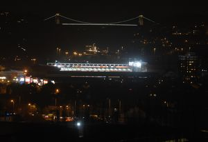 Ashton Gate at Night