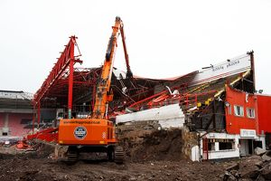 Ashton Gate Williams Stand Demolition 020715