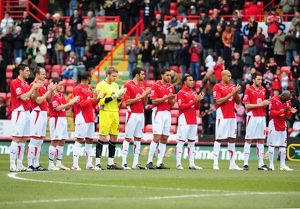 Bristol City minutes applause