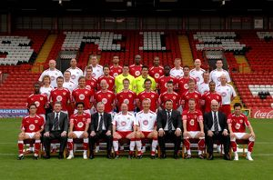 Bristol City Team Photo 2008/09
