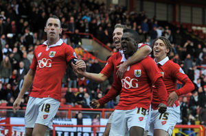 <b>Bristol City v AFC Telford</b><br>Selection of 115 items