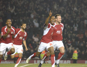 Darren Byfield Celebration