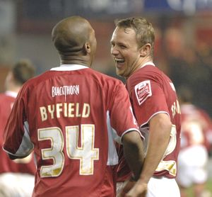 Darren Byfield Lee Trundle