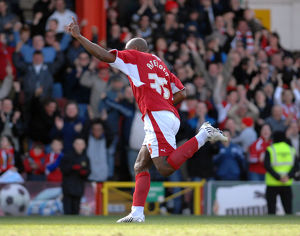 Dele Adebola Celebration