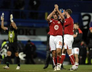 Lee Johnson thanks the travelling fans