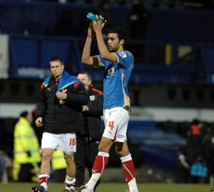 Liam Fontaine thanks the travelling fans