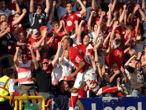 Nicky Maynard Celebration