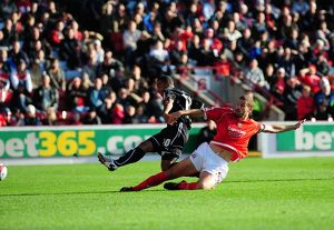 Nicky Maynard scores the opening goal for
