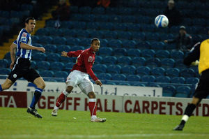 Nicky Maynard sees his shot saved