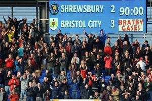 Shrewsbury Town v Bristol City 080314